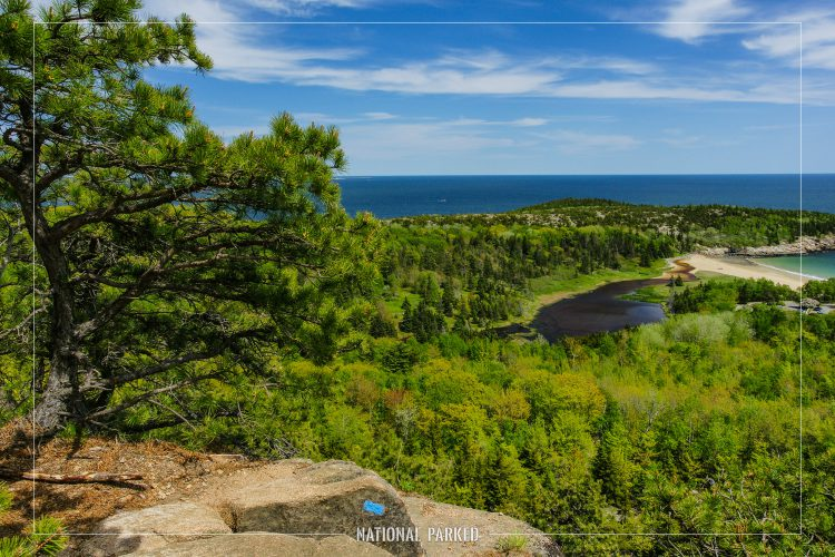 Beehive Trail in Acadia National Park in Maine