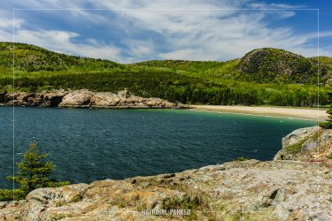 Great Head Trail in Acadia National Park in Maine