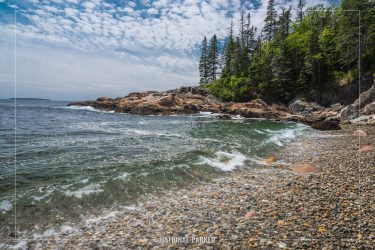 Little Hunters Beach in Acadia National Park in Maine