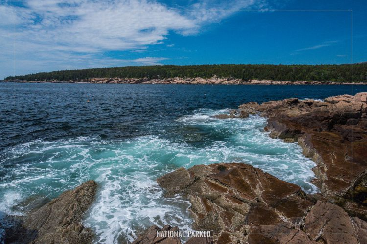 Otter Point in Acadia National Park in Maine