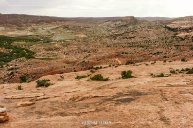 Delicate Arch Trail in Arches National Park in Utah