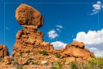 Balanced Rock in Arches National Park in Utah