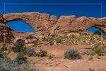 The Windows in Arches National Park in Utah