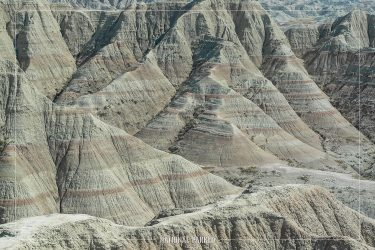 Panorama Point in Badlands National Park in South Dakota