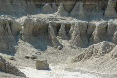 The Window in Badlands National Park in South Dakota