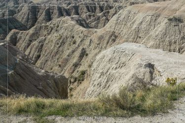 White River Valley Overlook in Badlands National Park in South Dakota