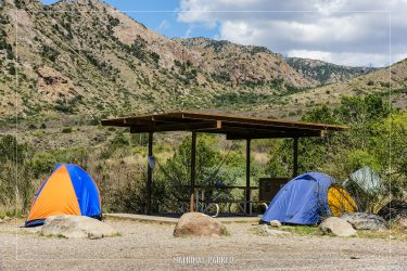 Chisos Basin Campground in Big Bend National Park in Texas