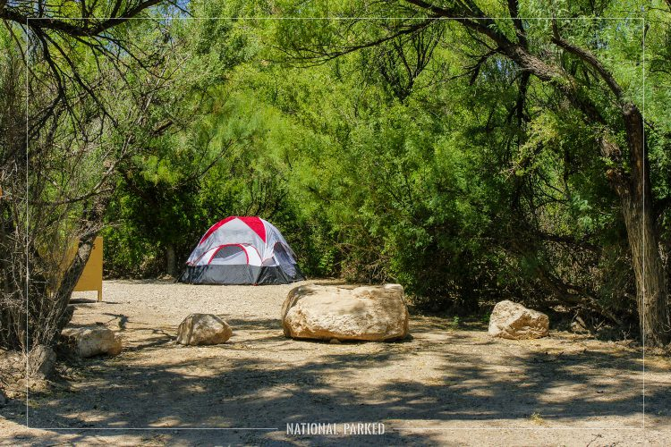 Rio Grande Village Campground in Big Bend National Park in Texas