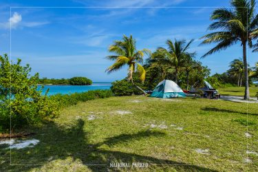 Boca Chita Key Campground in Biscayne National Park in Florida