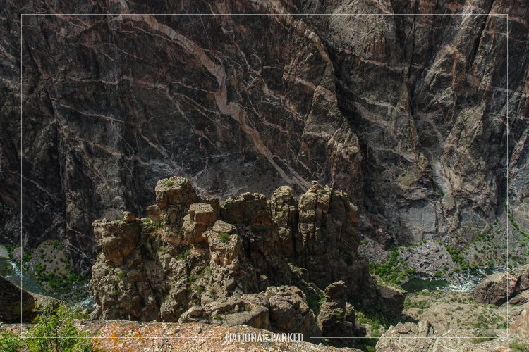 Cedar Point in Black Canyon of the Gunnison National Park in Colorado