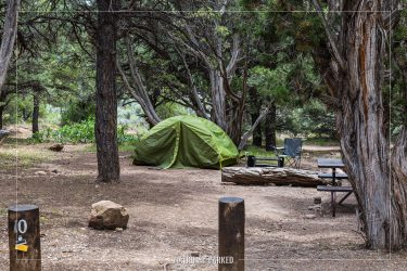 North Rim Campground, Black Canyon of the Gunnison National Park, Colorado