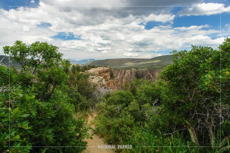 in Black Canyon of the Gunnison National Park in Colorado