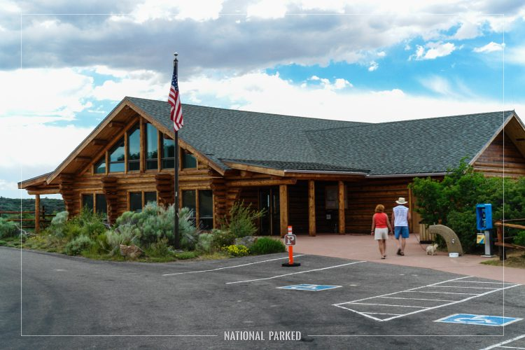 Visitor Center in Black Canyon of the Gunnison National Park in Colorado