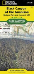 Black Canyon of the Gunnison Trails Illustrated Map
