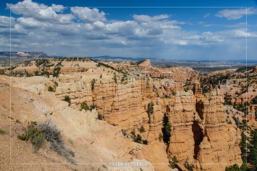 Fairyland Canyon in Bryce Canyon National Park in Utah