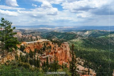 Farview Point in Bryce Canyon National Park in Utah