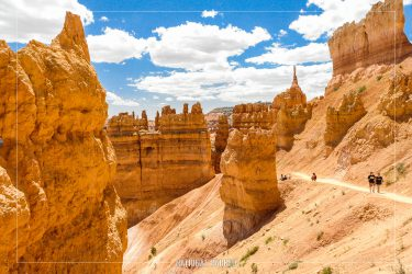 Navajo Loop Trail in Bryce Canyon National Park in Utah