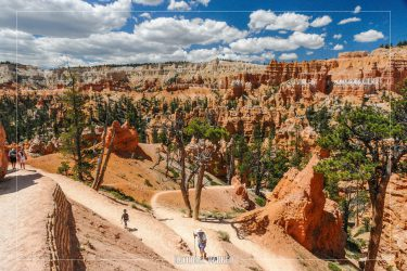 Queen's Garden Trail in Bryce Canyon National Park in Utah