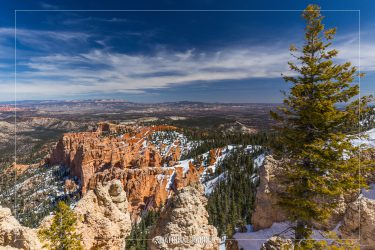 Rainbow Point in Bryce Canyon National Park in Utah