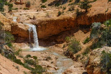 Water Canyon in Bryce Canyon National Park in Utah