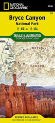 Bryce Canyon Trails Illustrated Map