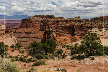 Shafer Canyon Viewpoint in Canyonlands National Park in Utah