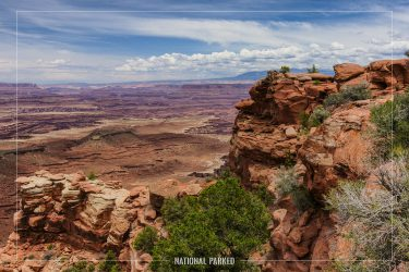 White Rim Overlook Trail in Canyonlands National Park in Utah