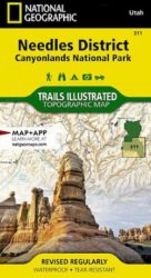 Canyonlands Needles District Trails Illustrated Map