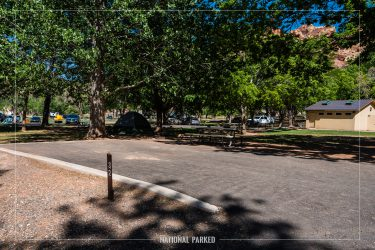 Fruita Campground in Capitol Reef National Park in Utah