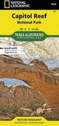 Capitol Reef Trails Illustrated Map