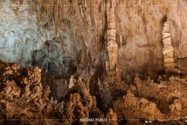 Big Room in Carlsbad Caverns National Park in New Mexico