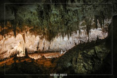 Kings Palace Tour in Carlsbad Caverns National Park in New Mexico