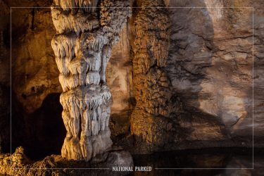 Natural Entrance Route in Carlsbad Caverns National Park in New Mexico