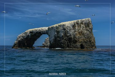 Arch Rock in Channel Islands National Park in California