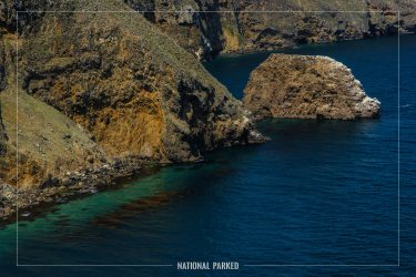 Cavern Point in Channel Islands National Park in California