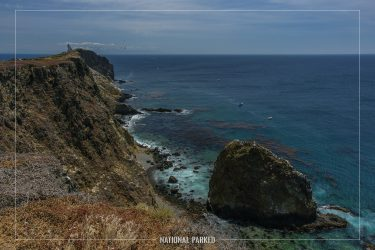 Pinniped Point in Channel Islands National Park in California