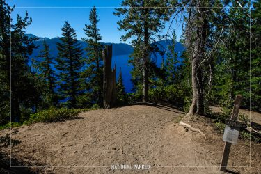 Cleetwood Cove Trail in Crater Lake National Park in Oregon