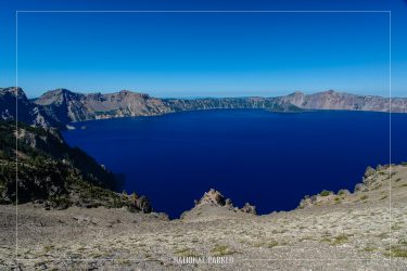 Cloudcap Overlook in Crater Lake National Park in Oregon