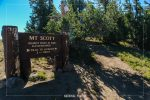 Mt Scott Trail in Crater Lake National Park in Oregon