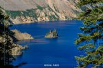 Phantom Ship Viewpoint in Crater Lake National Park in Oregon