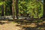 Pumice Point Picnic Area in Crater Lake National Park in Oregon