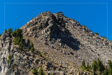 Watchman Viewpoint Trail in Crater Lake National Park in Oregon