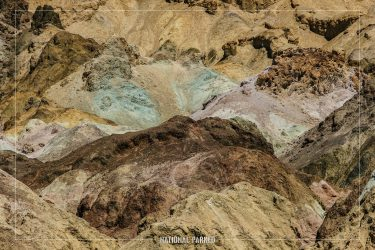 Artist Palette in Death Valley National Park in California