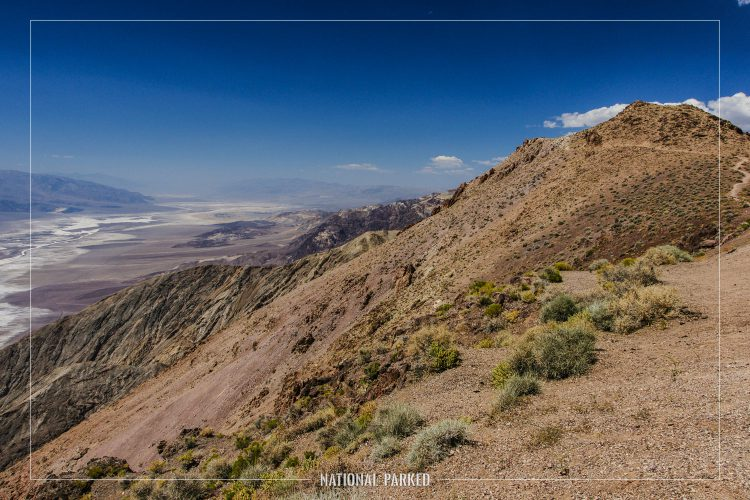 Dante's View in Death Valley National Park in California