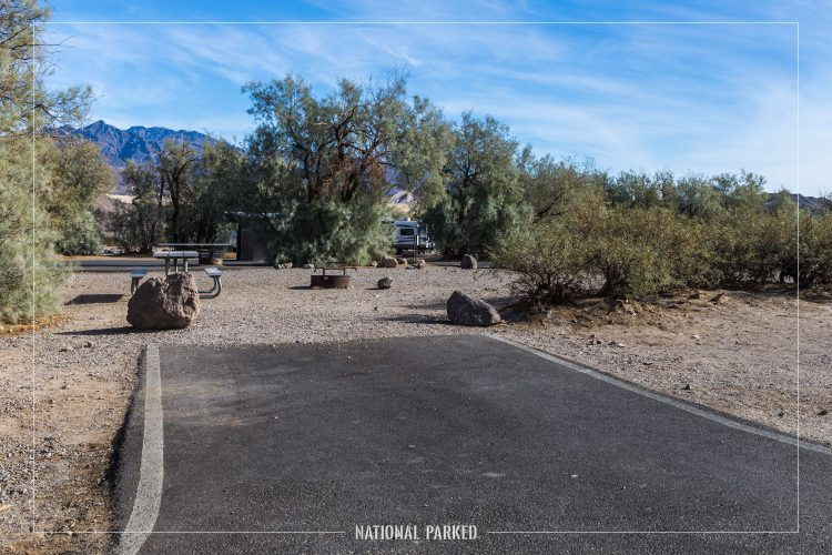 Furnace Creek Campground, Death Valley National Park, California