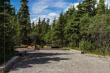 Savage River Campground in Denali National Park in Alaska