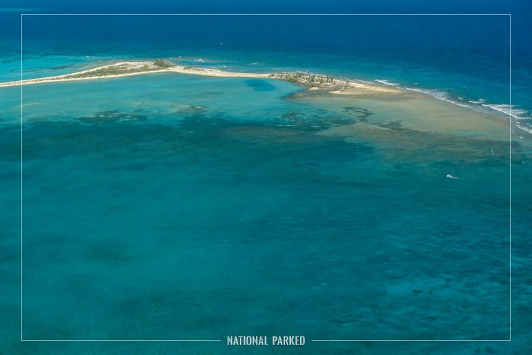 Aerial Views in Dry Tortugas National Park in Florida