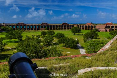 Fort Jefferson Interior in Dry Tortugas National Park in Florida