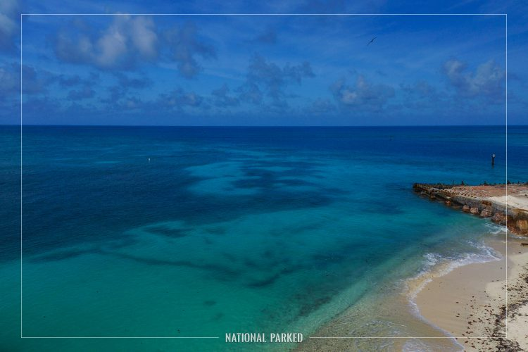 Outward Shots in Dry Tortugas National Park in Florida