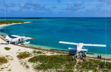 Seaplanes in Dry Tortugas National Park in Florida